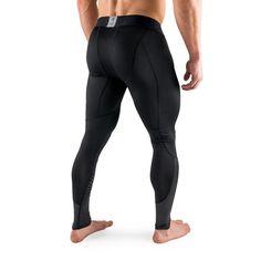 Active Dry Compression Pants - Black - Rise Mens Compression Pants, Knee Sleeves, Sleeveless Hoodie, Tee Shirt Designs, Intense Workout, Sport Pants, Grey Hoodie, Black Pants, Tee Shirts