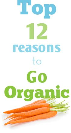 Organic food is a way of life and a fantastic investment in your family's #health.