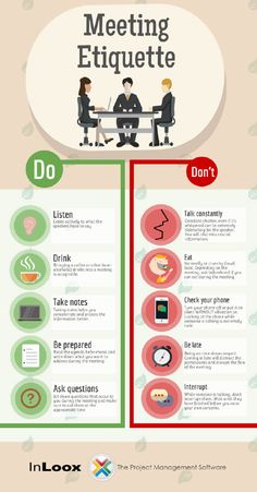 Image titled meeting etiquette rules to live by Table Manners, Good Manners, Dinning Etiquette, Etiquette Dinner, Effective Meetings, Etiquette And Manners, Job Interview Tips, Communication Skills, Things To Know
