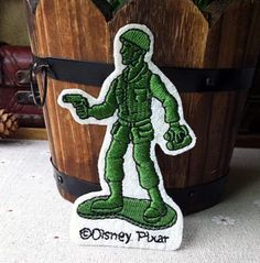 Toy Story patch Army Men on Patrol patch Embroidered patch Iron on patch Sew on patch Applique by RockyMonkei on Etsy https://www.etsy.com/listing/294564073/toy-story-patch-army-men-on-patrol-patch