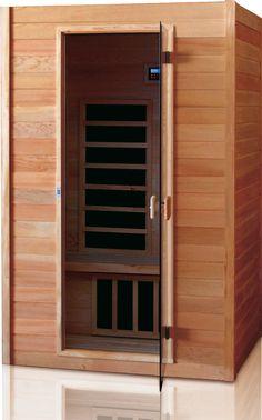 infrarotkabine infrarot w rmekabine infrarotsauna sauna 100 x 100 i hemlock holz. Black Bedroom Furniture Sets. Home Design Ideas