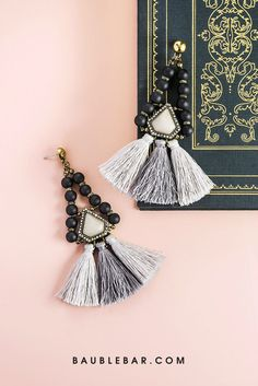 Oversized #earrings are a major trend for #fall, which is why we'll be wearing these beauties on repeat. #jewelry
