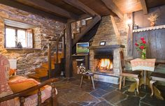 Apartamento Rural - Casa Riveras - Apartamentos A Parreira en Santa Eulalia de Oscos (Asturias)