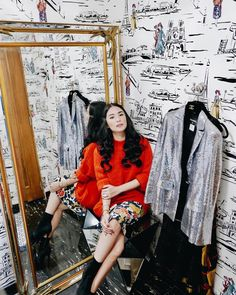 Wearing red on this rainy day. ❤️ see you at in Robinson's Place Pangasinan! Heart Evangelista Style, Filipina Actress, Classy Women, Types Of Fashion Styles, Chic Outfits, Casual Chic, Celebrity Style, Street Style, Style Inspiration
