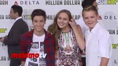 "Earth to Echo Ella Wahlestedt, Teo Halm, Reese Hartwig ""Million Dollar A..."