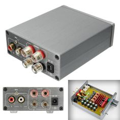 TPA3116 Advanced 50W 2 Class 2.0 Audio Stereo Digital Power Amplifier. 1xDigital Amplifier (Without Power Adapter ). Adopts Germany MKP10 as output, more rich overtone. Full allumnium alloy body, gold plated RCA and crystal loudspeaker line column.   eBay!
