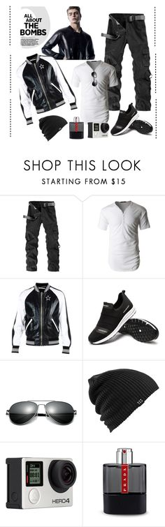 """*Bomber Jacket men Contest*-Set#1"" by sassy-elisa ❤ liked on Polyvore featuring LE3NO, Givenchy, Burton, Billabong, Prada, men's fashion, menswear and bomberjacket"