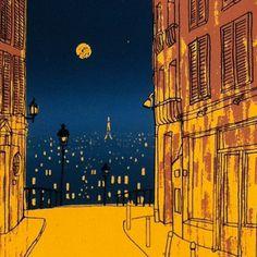 Todd Stewart : Parijs: ik vind hem erg leuk en word er vrolijk van, komt frivool over.