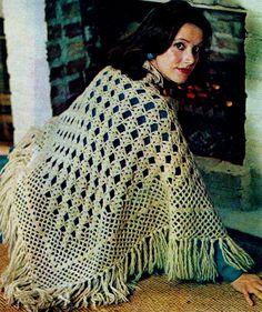 Crochet Diamond Shawl PDF Crochet Pattern by MomentsInTwine on Etsy