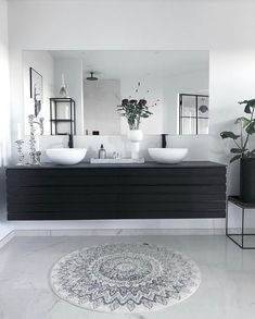 Double Vanity, Man Cave, New Homes, Bathtub, Interior Design, Bathroom, House, Inspiration, Instagram