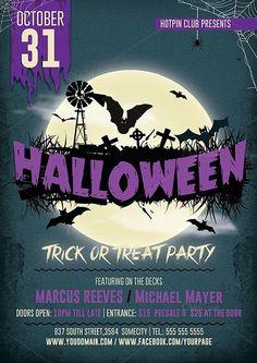 Halloween Flyer Template - 395173