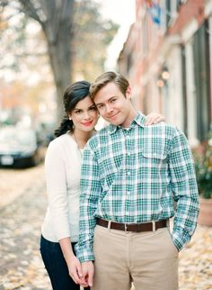 Old Town, Alexandria engagement session. pretty and not cheesy.