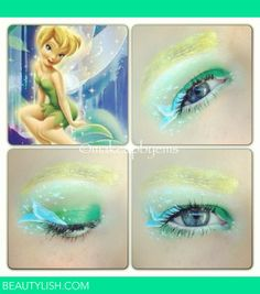 tinkerbell Disney makeup look | Emma B.'s Photo | Beautylish
