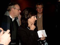 Pilar del Rio, vrouw van José Saramago, Antwerpen, 2005