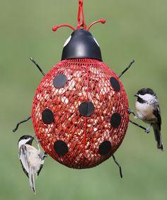 Ladybug Mesh Feeder, at Duncraft