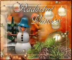 Vánoční přání - Obrázková přání Christmas Bulbs, Holiday Decor, Home Decor, Decoration Home, Christmas Light Bulbs, Room Decor, Interior Decorating