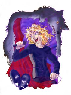 "Lestat, the Brat Prince -- The Vampire Chronicles, Anne Rice  (from deviantart: ""VC: Lestat ver.1 by claudiakat"")"