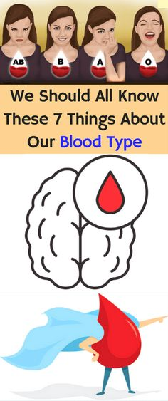 We Should All Know These 7 Things About Our Blood Type! - Workout Hit