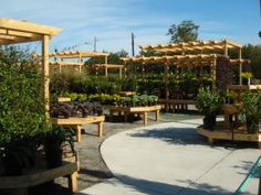 Wood Display Products - New Garden Centers - Bench Systems