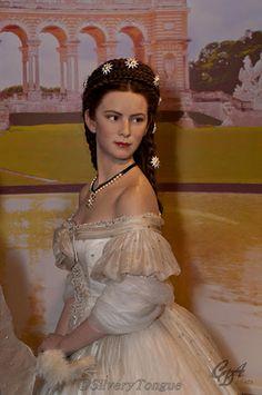 Empress Elisabeth of Austria, Madame Tussauds Wax Museum, Vienna.