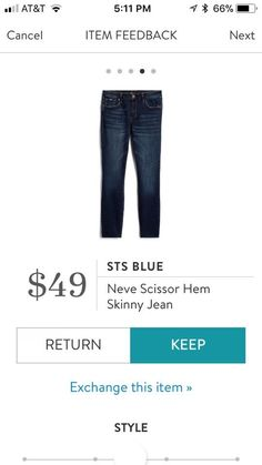 Can't believe it!!! Jeans under $80 from SF https://www.stitchfix.com/referral/5229219?som=c&sod=i
