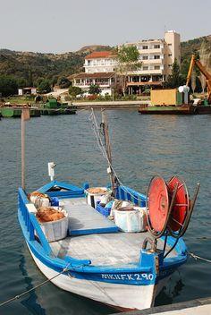 The village of Kato Pyrgos, Cyprus , Greece