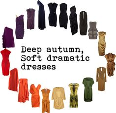 DA, SD dresses by cloudyrosy, via Polyvore