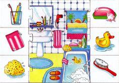 badkamer puzzel