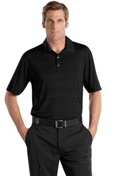 Buy the Nike Golf - Elite Series Dri-FIT Heather Fine Line Bonded Polo Style 429438 from SweatShirtStation.com, on sale now for $72.99 #promotionalclothing #nikegolfpolo #asi