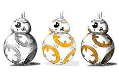 BB-8の簡単なイラストの描き方をご紹介! Geek Stuff, Star Wars, Draw, Christmas Ornaments, Stars, Holiday Decor, Geek Things, To Draw, Christmas Jewelry