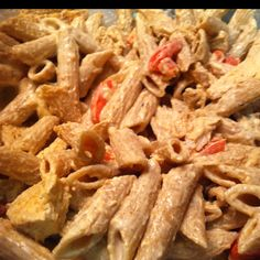 Yummy, Copycat Chili's Cajun Chicken Pasta