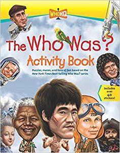 The Who Was? Activity Book: Jordan London, Scott Burroughs, Nancy Harrison: 9780448489506: Amazon.com: Books