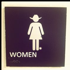 Only in Texas! I saw a chic with spurs on last week! Getting gas at Bucees!