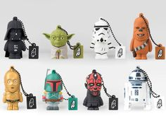 Star Wars Flash Drives from Tribe