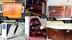 AVANT – APRÈS : Ces 50 meubles ont trouvé une nouvelle utilité