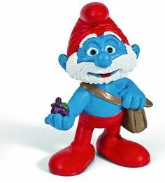 Papa Schlumpf  - der Weise unter den Helden #Spielzeug #Schlumpf