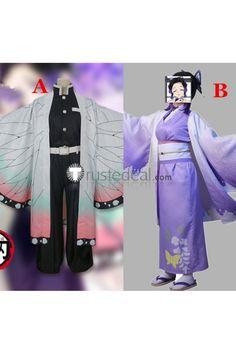 Kimetsu no Yaiba Demon Slayer Shinobu Kochou Kimono Cosplay Costumes Costume Wigs, Cosplay Costumes, Anime Cosplay Girls, Kimono Style, Body Size, Kimono Fashion, Bra Sizes, Daily Wear, Coat