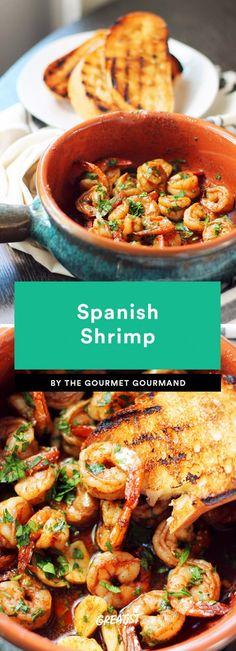 9 Spanish Recipes to Make When You Want to Be Eating Tapas in Barcelona Spanish Shrimp Tapas Platter, Tapas Dishes, Food Dishes, Antipasto Platter, Spanish Dishes, Spanish Cuisine, Spanish Recipes, Spanish Shrimp, Spanish Rice