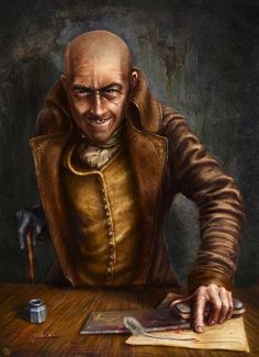 m Halfling Rogue Thief Government Clerk taxman City urban story rpg settings Fantasy Male, Fantasy Rpg, Medieval Fantasy, Rpg Pathfinder, Pathfinder Character, Fantasy Portraits, Character Portraits, Dnd Characters, Fantasy Characters