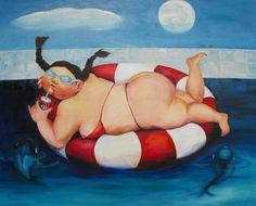 Summertime Delight Painting - Summertime Delight Fine Art Print - Min Wang