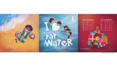my last project - calendar for kids about tap water and this is graphic design of the calendar ^^ thank you so much for lovely comments and faving. I appreciate it ^^