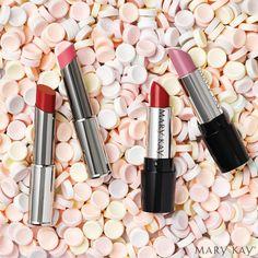 #marykay #lipstick #semishine #gel #red