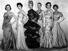 """June Allyson, Joan Collins, Dolores Gray, Ann Sheridan, Ann Miller & Joan Blondell from """"The Opposite Sex""""   (1956)"""