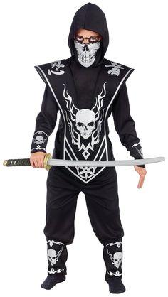 Skull Lord Ninja Child Costume from Buycostumes.com