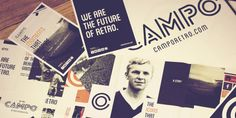 Working closely with the brand and the product designer of Campo Retro, from the birth of the original idea right through to the launch of the online store, we have been able to develop an identity and create original and engaging content that expresses the essence of this unique collection of retro football inspired apparel. View and download the PDF at  http://lookbooks.photolink.co.uk/campo-branding/