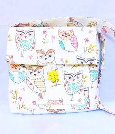 A personal favorite from my Etsy shop https://www.etsy.com/uk/listing/259693603/messenger-bag-owl-designer-unique-one-of