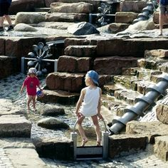 Richter Spielgerate, Water Play - Playscapes