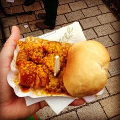 Curry wurst in Berlin #studyabroad, via Flickr.