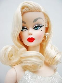 Haha this is my look-alike barbie....bitchy resting face!