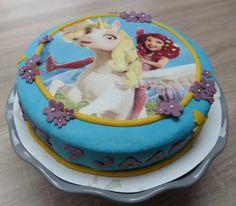 Mia and Me taart Jinte 7 jaar
